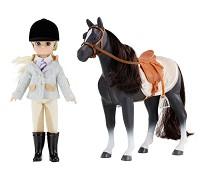 Pony Club, dukke og hest - Lottie