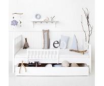 Seaside hvit sengehest fra Oliver Furniture