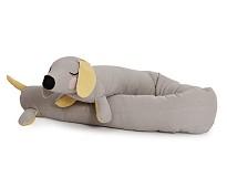 Sengekant, grå Lazy Long Dog - Roommate