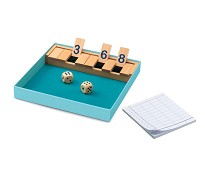 Shut the box, tellespill fra Djeco