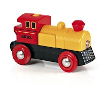 Toveis batteridrevet lokomotiv til togbane - BRIO