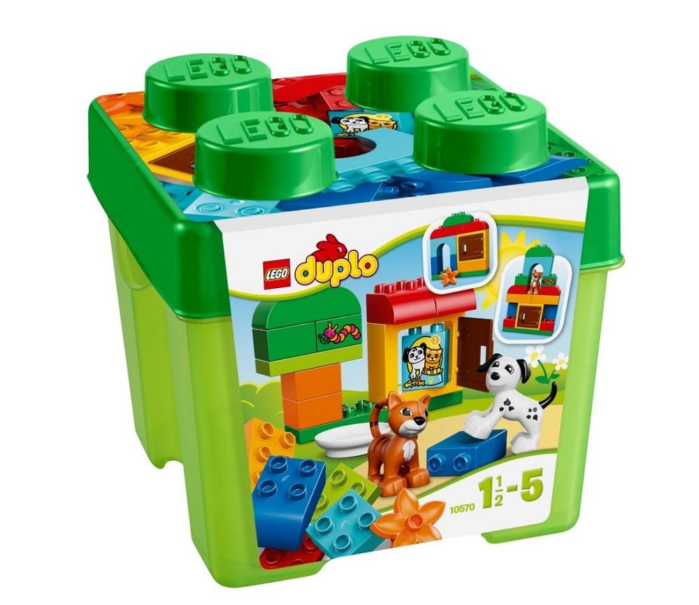 Lego Duplo Alt I Ett Gavesett Sprell Veldig Fine Leker Og
