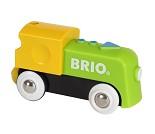 Batteridrevet lokomotiv til BRIO togbane