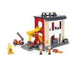 Brannstasjon i tre - BRIO