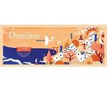 Klassisk dominospill fra Djeco