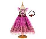 Kostyme 6-8 år blomsterprinsesse