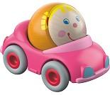 Rosa bil med kule, kulebanetilbehør - HABA