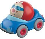 Blå bil med kule, kulebanetilbehør - HABA