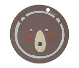 Spisebrikke med bjørn fra OYOY