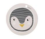 Pingvin - spisebrikke i silokon - OYOY