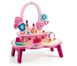Rosa sminkebord med speil - Djeco