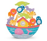 Noahs ark, stablespill i tre fra Le Toy Van