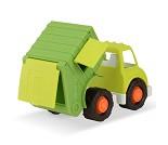 Søppelbil, stor lekebil i plast