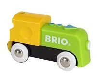 Batteridrevet lokomotiv til togbane - BRIO