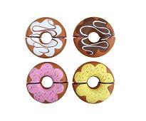 Donuts 4 stk - lekemat i tre