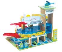 Grand Garage, parkeringshus i tre - Le Toy Van