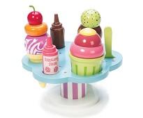 Isbar med is, lekemat i tre - Le Toy Van