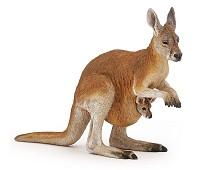 Kenguru miniatyrfigur - Papo