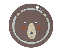 Spisebrikke med bjørn - OYOY