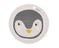 Spisebrikke med pingvin - OYOY