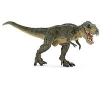 Grønn Tyrannosaurus Rex miniatyrfigur - Papo
