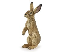Miniatyrfigur, stående hare fra PAPO
