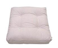 Stripete rosa gulvpute fra Oliver Furnitur