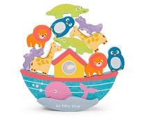 Noahs ark, stablespill i tre - Le Toy Van