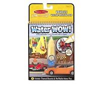 Water Wow kjøretøy - tryll frem bilder med vann