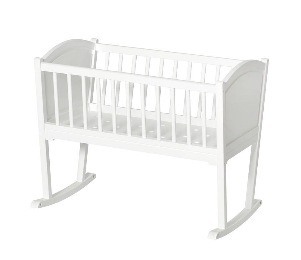 seaside hvit vugge fra oliver furniture sprell veldig. Black Bedroom Furniture Sets. Home Design Ideas