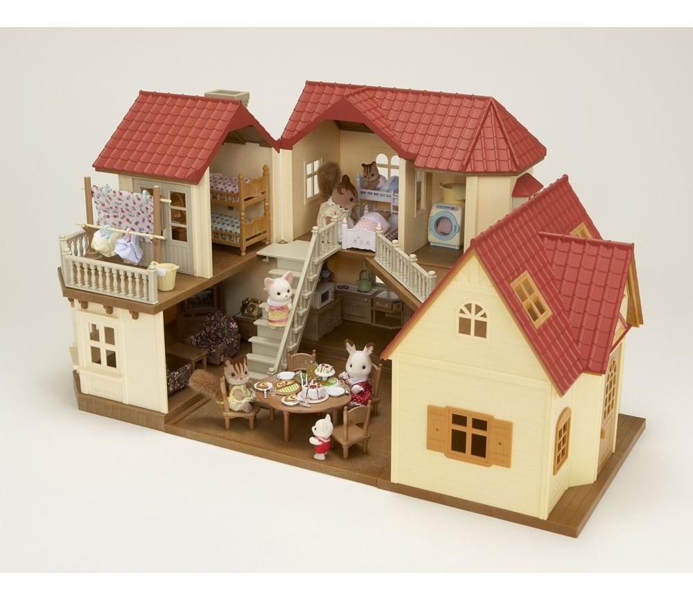Hus med lamper - Sylvanian Families | Sprell - veldig fine leker og barneromsinteriør