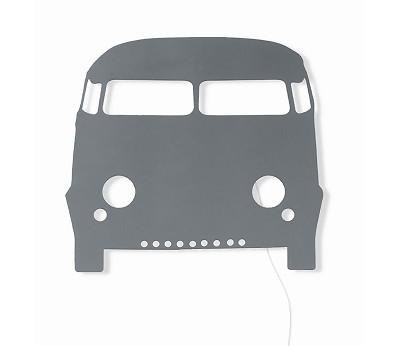 Mørkegrå bil vegglampe fra Ferm Living