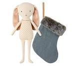 Blå kanin i sokk, 25 cm - Maileg