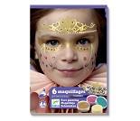 Ansiktsmaling med klistremerker, prinsesse - Djeco