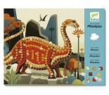 Dinosaurs mosaikk, hobbysett - Djeco