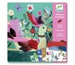Fugler og fjær - Hobbysett fra Djeco