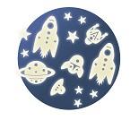 Selvlysende planeter og raketter - Djeco