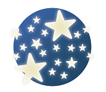 Selvlysende stjerner - Djeco