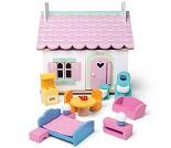 Lilys Cottage, dukkehus i tre fra Le Toy Van