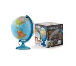 Globus med lys og stjernehimmel, 25 cm