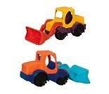 Traktor Mini loadette - lekebil i plast, fargevalg