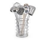 Kjøkkenredskap i stål med 7 deler