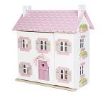 Sophies hus, dukkehus i tre fra Le Toy Van