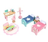 Barnerommet, dukkehusmøbler fra Le Toy Van
