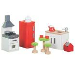 Kjøkkenet, dukkehusmøbler i tre fra Le Toy Van