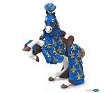 Blå Prins Philip hest miniatyrfigur - Papo