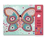 Mosaikksett fra Djeco, sommerfugler