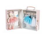 Ballerinamus i koffert - Moulin Roty