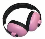 Rosa hørselvern/ øreklokker, 0-2 år