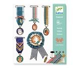 Sysett til å lage brosjer og medaljer fra Djeco